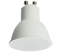 Ecola Reflector GU10  LED  8,0W  220V 4200K матовое стекло (композит) 57x50 Solnechnogorsk