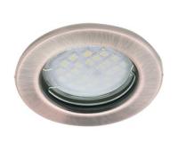 Светильник Ecola Light MR16 DL90 GU5.3 встр. плоский Черненая Медь 30x80 Solnechnogorsk