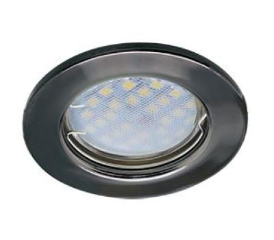 Светильник Ecola Light MR16 DL90 встраиваемый плоский Черный Хром 30x80 - 2 pack Solnechnogorsk