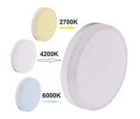 Ecola GX53   LED Premium  7,0W Tablet  220V с изменяемой цв.темп. (2700/4200/6000K) матовое стекло (композит) 27x75 Solnechnogorsk