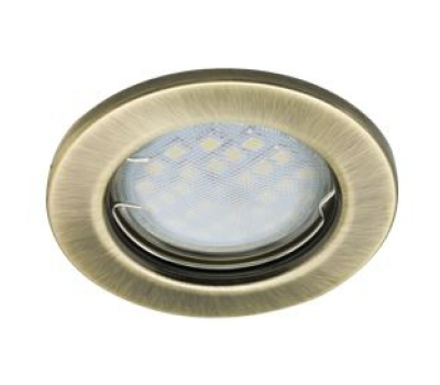 Светильник Ecola Light MR16 DL90 GU5.3 встр. плоский Черненая Бронза 30x80 Solnechnogorsk