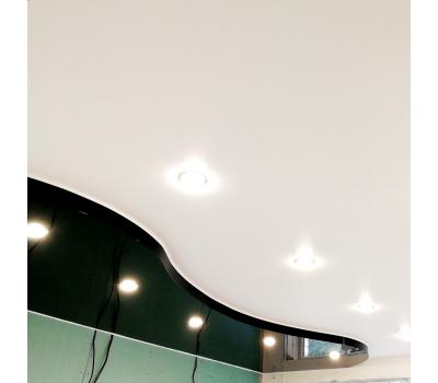 Двухуровневый натяжной потолок 1 м² (всё включено) Solnechnogorsk