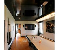 Натяжной потолок 12 м²