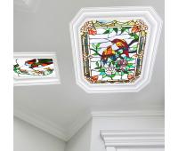 Полупрозрачный натяжной потолок с фотопечатью 1 м² + монтаж