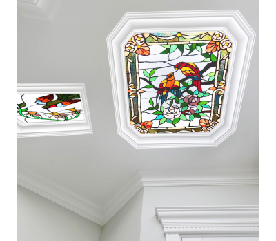 Полупрозрачный натяжной потолок с фотопечатью 1 м² + монтаж Solnechnogorsk