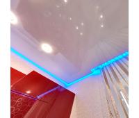 Парящий потолок. Светодиодная лента 14.4 Вт RGB + специальный профиль - 1 метр